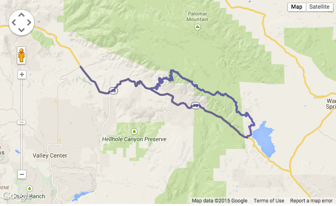 The Palomar Mountain Loop